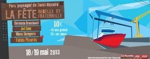 le 18 et 19 mai 2013 : La fête des Nouvelles à Saint-Nazaire dans LIRE, REFLECHIR, S'INFORMER, REAGIR affiche-2013-300x119