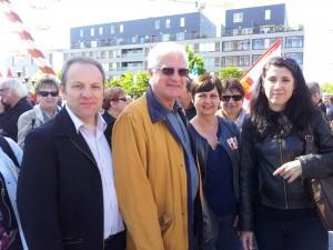 Myriam Martin Xavier Compain Claude Aufort 2